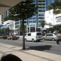 Photo taken at Surfers Paradise Northbound Bus Stop by Veranni V. on 1/6/2012