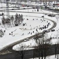 Снимок сделан в Троєщинський канал пользователем Roberto V. 1/22/2012