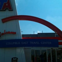Photo taken at TravelCenters of America by Larry M M. on 9/24/2011