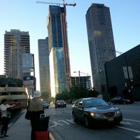 Photo taken at CTA Bus Stop 589 by a k on 8/17/2012