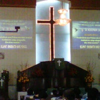 Photo taken at Gereja GBKP  km 7 by Henriques P. on 11/5/2011