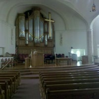 Photo taken at Saint Paul United Methodist Church by Jamie S. on 5/29/2011