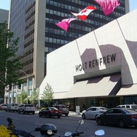 Photo taken at Holt Renfrew Centre by Krıstófer-Þórır D. on 8/30/2012