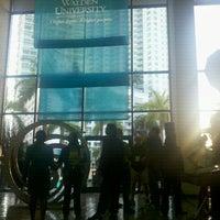 Photo taken at Hyatt Regency Miami by Julie W. on 1/21/2012