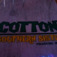 Photo taken at Cotton Southern Bistro by Bernice P. on 10/15/2011