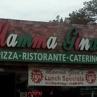 Photo taken at Mama Gina's Italian Restaurant & Pizzeria by Edd_Love on 10/3/2011