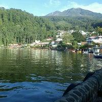 Photo taken at Telaga Sarangan by Romadhon H. on 1/2/2012