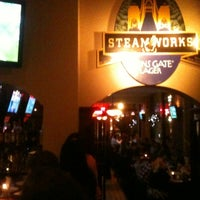 Photo taken at Steamworks Brewing Company by Alex M. on 10/22/2011