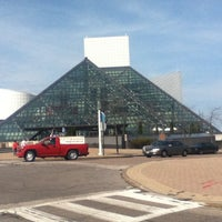 Photo taken at Rock & Roll Hall of Fame by Elmer P. on 3/18/2012