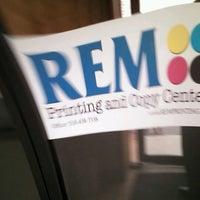 Photo taken at REM Printing by David K. on 4/27/2012