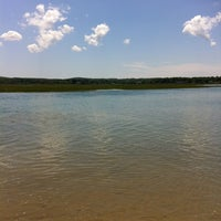 Photo taken at Town Neck Beach / Boardwalk by Brooke J. on 7/6/2012