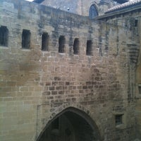 Photo taken at Parador Santo Domingo de la Calzada by Robin K. on 5/26/2011
