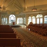 Photo taken at Disney's Wedding Pavilion by Chris G. on 3/17/2012