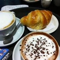 Photo taken at Caffè Nero by Stephanie F. on 9/10/2012