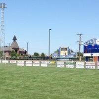 Photo taken at Levitt Stadium by Adam B. on 6/23/2012
