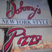 Photo taken at Johnny's New York Style Pizza by ANjee Q. on 12/3/2011