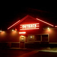 Photo taken at Outback Steakhouse by Robin B. on 1/8/2012