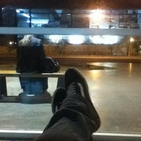 Photo taken at Estación Ferroautomotora de Mar del Plata by Joaquin B. on 4/21/2012