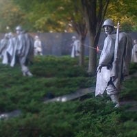 Photo taken at Korean War Veterans Memorial by Nagzah A. on 10/7/2011