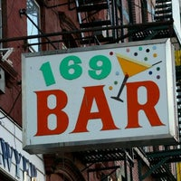 Photo taken at 169 Bar by Lisa G. on 8/24/2011
