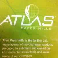 Photo taken at Atlas Paper Mills Corporate by Michael G. on 8/4/2011