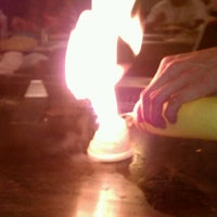 Photo taken at Genji Japanese Steakhouse by Dee D. on 9/16/2011