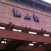Photo taken at Va de Vi Bistro & Wine Bar by Zahra S. on 4/9/2012