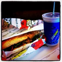 Photo taken at Subway by 💀Bruno F. on 3/14/2011