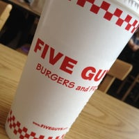 Photo taken at Five Guys by Dave H. on 3/4/2012