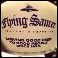 Photo taken at Flying Saucer by Donovan F. on 8/30/2012