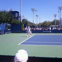 Photo taken at Court 14 - USTA Billie Jean King National Tennis Center by Kaylee🌴 A. on 8/30/2011