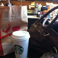 Photo taken at Starbucks by Alexandra K. on 1/25/2012