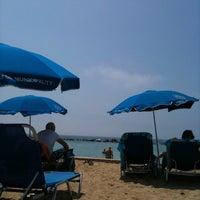 Photo taken at Municipal Beach by Door on 8/8/2011