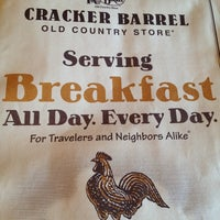 Photo taken at Cracker Barrel Old Country Store by Sarah T. on 10/15/2011