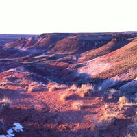 Photo taken at Painted Desert by Mil M. on 12/31/2011