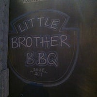 Photo taken at Little Brother BBQ by Maurice F. on 2/9/2012