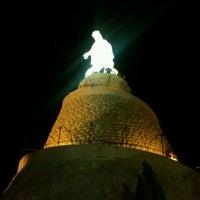 Photo taken at Notre Dame du Liban Harissa by Joe D. on 6/10/2012