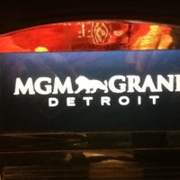Photo taken at MGM Grand Detroit Casino & Hotel by Volker N. on 5/9/2012