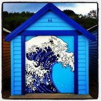 Photo taken at Brighton Bathing Box by Iván F. on 5/7/2012