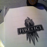 Photo taken at Fire & Ice Restaurant by Brad H. on 6/21/2012