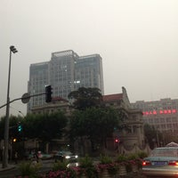 Photo taken at Jing'an Bus Terminal (37,21,825) by Oscar C. on 6/11/2012