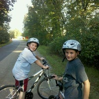 Photo taken at Dutchess Rail Trail by Suzanne R. on 10/8/2011