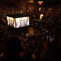 Photo taken at Mandalay Bay Events Center by Travel Swagger on 11/13/2011