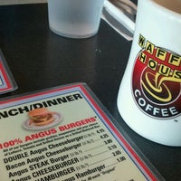 Photo taken at Waffle House by Sharon on 12/9/2011
