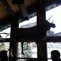 Photo taken at Mangy Moose Restaurant and Saloon by jamie on 3/2/2012