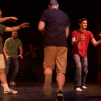Photo taken at Jet City Improv by jeremy b. on 5/19/2012