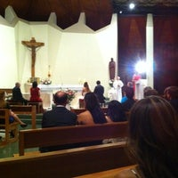 Photo taken at Iglesia La Transfiguracion del Señor by adrian a. on 1/21/2012