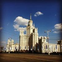 Photo taken at Bolshoy Ustyinsky Bridge by Антон С. on 7/30/2012