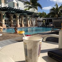 Photo taken at Southernmost Hotel in the USA by Katharina D. on 4/26/2012