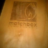 Foto tirada no(a) Matchbox Vintage Pizza Bistro por D J. em 11/23/2011